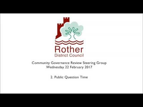 Community Governance Review Steering Group 22 Feb 17