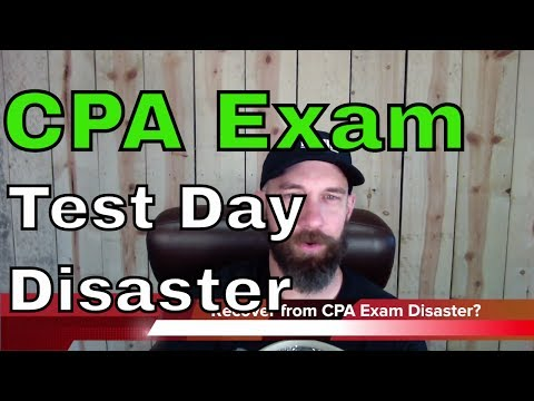 CPA Exam Test Day: Prometric Experience Disaster | Another71.com