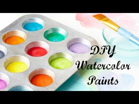 DIY Watercolor Paints!   Can You DIY It?