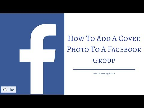 How To Add A Cover Photo To A Facebook Group