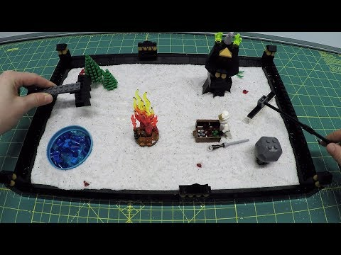 Easy to Make Lego Zen Garden - Fun for Kids of All Ages