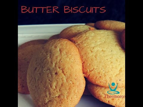 Butter Biscuits made with your Thermomix
