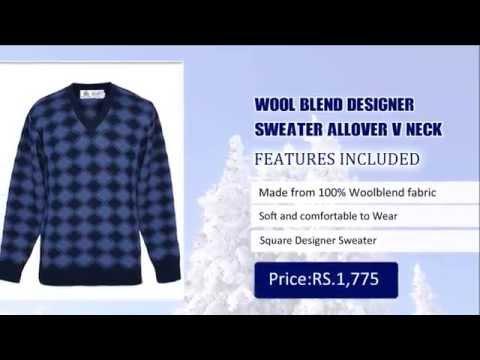 Men Wool Blend Sweater Online - Buy Wool Blend Sweaters for Men
