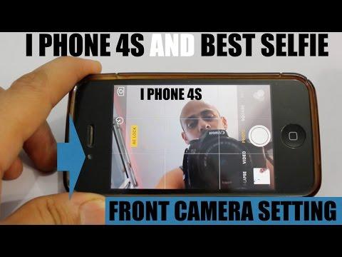 I Phone 4S Front Camera SELFIE TRICK !!