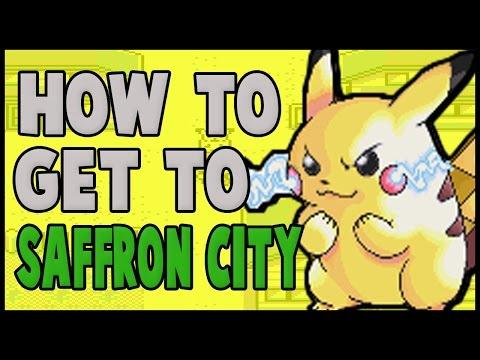 How to get to Saffron City on Pokemon Yellow