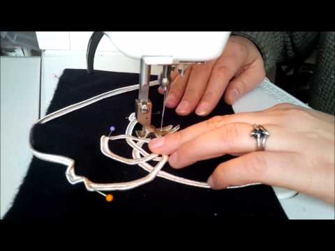 Tutorial - how to apply military style braiding on a machine