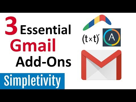 3 Gmail Add-Ons I Can't Live Without (Email Essentials)