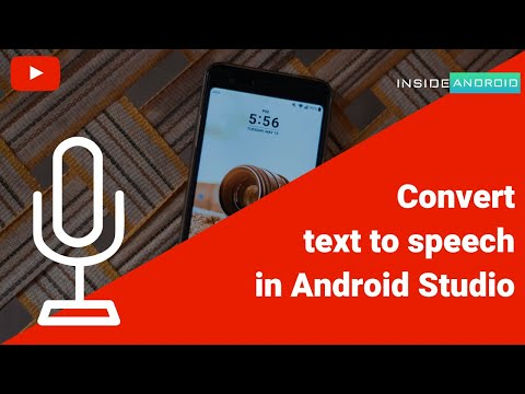 Convert Text to Speech in Android Studio   Android Studio Tutorial