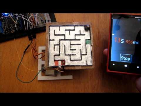 Netduino + WP8 maze game part 2