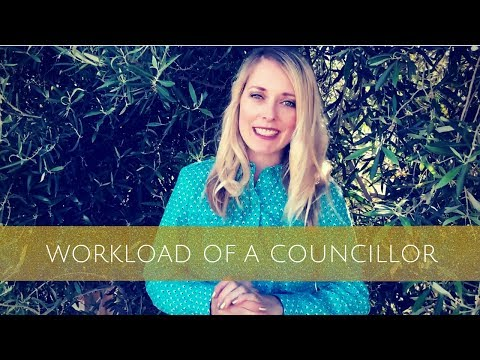What is the workload of a Councillor like?