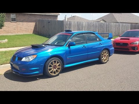 Lesson 1: (The Basics/ The Clutch) Learning Stick Shift (Manual) Subaru 07 STI