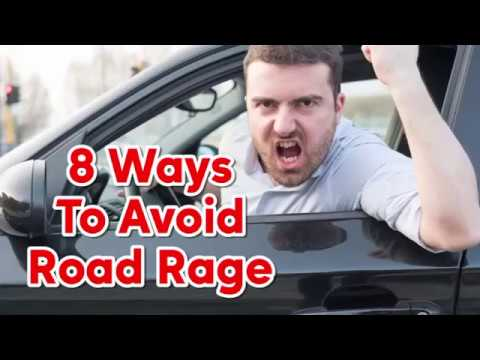 8 tips to avoid ROAD RAGE