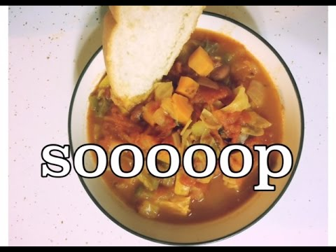 Delicious Vegetable Cabbage Soup | Vegan | Family Friendly