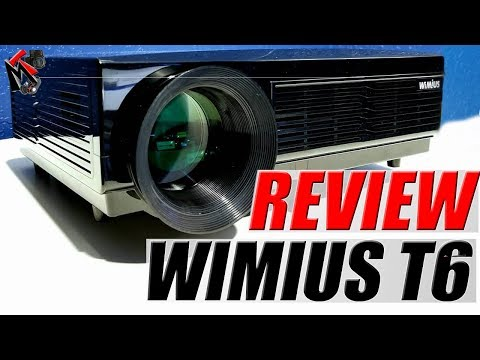 Wimius T6 Review- Budget Projector in 2018
