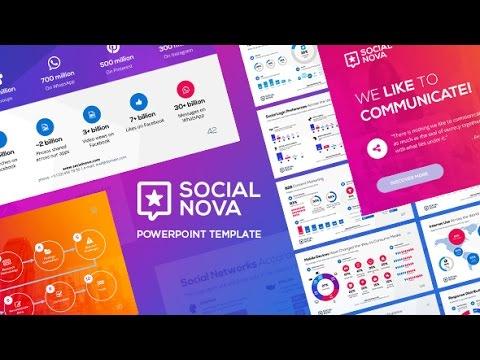 Social Nova – PowerPoint Template