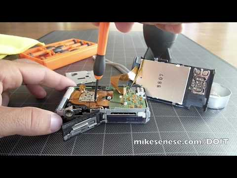 Surprisingly Easy Sensor Cleaning and Dust Removal: Panasonic Lumix FX37 Digital Camera