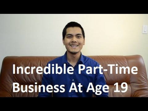 The BEST Part-Time Business to start at Age 19 | Koukun