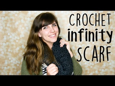 The BEST Crochet Infinity Scarf Pattern for *Absolute Beginners*