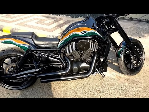 MODIFIED HARLEY STREET 750 | ONLY BIKE IN INDIA