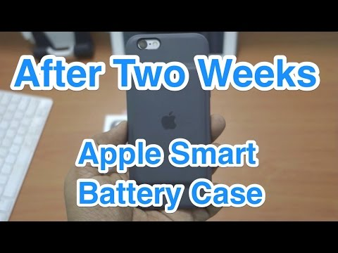 Apple Smart Battery Case 2 Weeks Usage Review