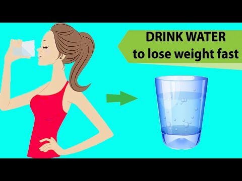 How Much Water You Should Drink To Lose Weight Fast