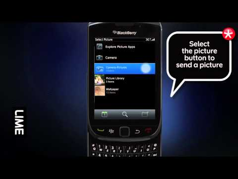 How to send a Picture in BBM