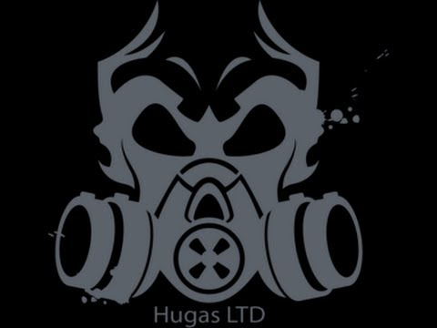 Water transfer printing - reaper skulls with HUGAS LTD activator