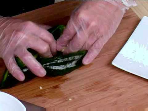 Cooking Tips : How to Prepare Poblano Peppers for Stuffing