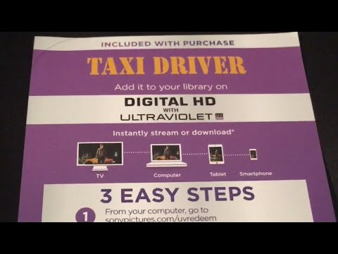 Free Ultraviolet Movie Code - Taxi Driver