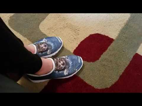 Funny Cat Shoes (Sneakers) Review