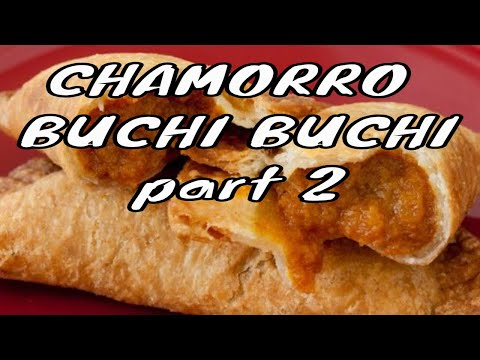 Chamorro buchi buchi recipe - Part 2
