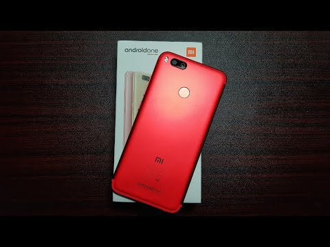 Mi A1 Red Unboxing!