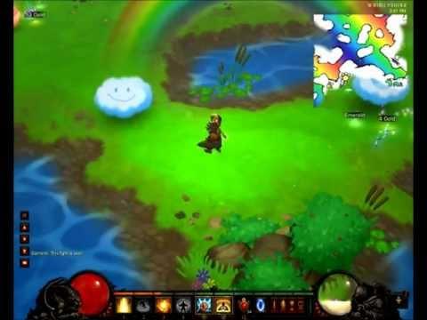 Diablo 3 - Secret Level - Pony Run - Whimsyshire