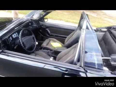 1988 foxbody mustang gt convertible flick