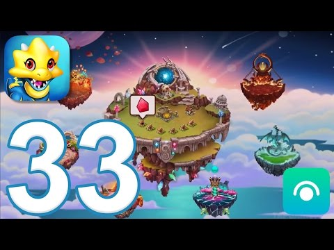Dragon City - Gameplay Walkthrough Part 33 - Level 27, Ancient World (iOS, Android)