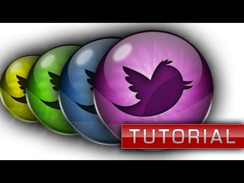 Glossy Social Media Icons Tutorial - Photoshop CS6 - ChromeDesignsHD