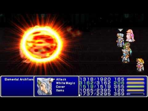 Final Fantasy IV (PSP) - Elemental Archfiends (四天王