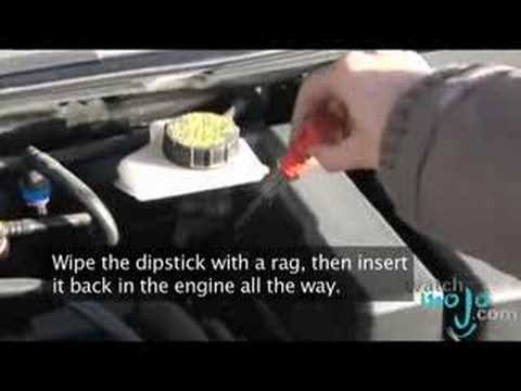 How to Check a Car's Transmission Fluid
