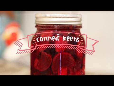 How to Pickle / Can / Preserve Beets