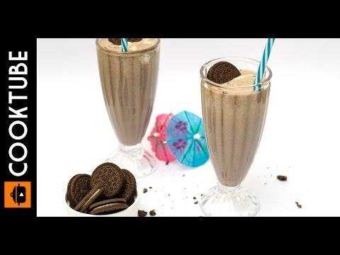 Oreo Shake Recipe with Vanilla Ice Cream & Peanut Butter