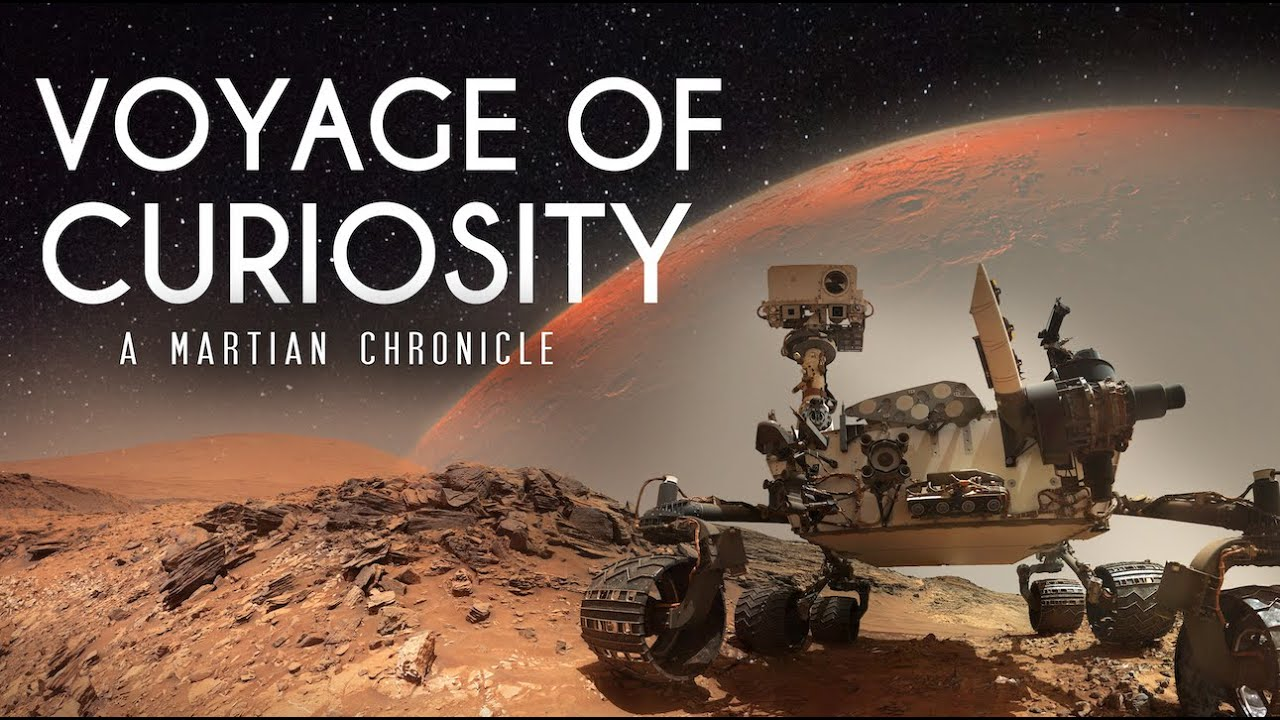 Voyage of Curiosity: A Martian Chronicle 4k
