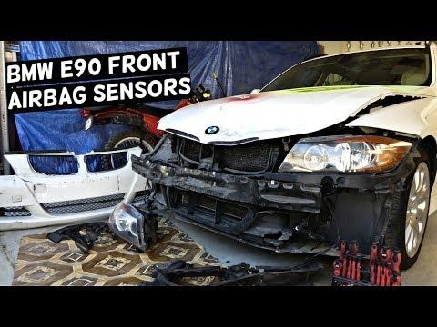 BMW E90 FRONT AIRBAG SENSOR LOCATION AIR BAG SENSOR E91 E92 E93