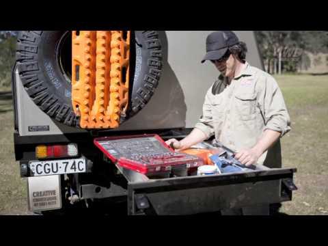 V8 landcruiser ute cutting hoops - 45 Series Landcruiser Tray