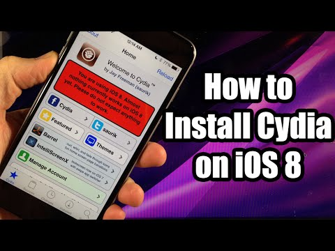 How to Install Cydia on iOS 8