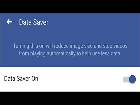 How to Turn On Facebook's Data Saver Tool