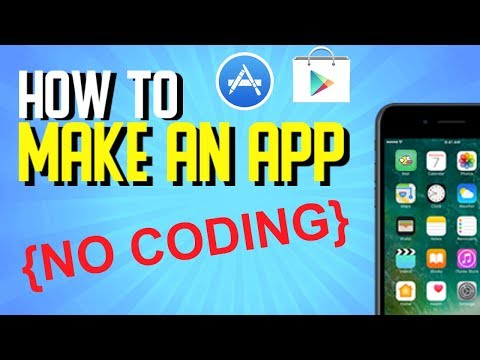How to Create an App Without Coding 2017 (Mobile Game App Developing)