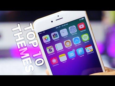 Top iOS 9 Themes - Best Jailbreak Themes