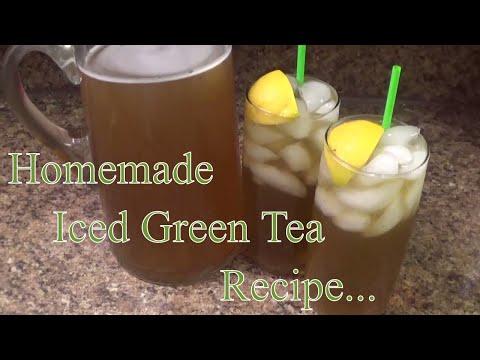 Iced Sweet Green Tea Recipe.. (HOW TO MAKE ICED SWEET GREEN TEA)