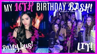 Download MY 16TH BIRTHDAY VLOG! I Got My License & Party Bus! Video