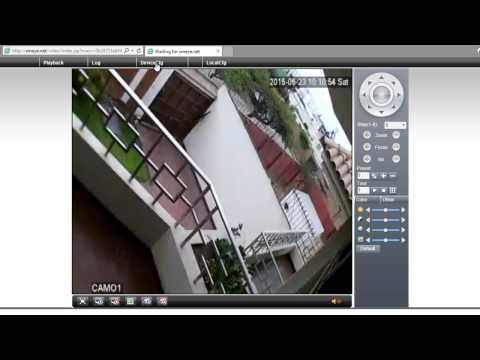 Configurar Camara IP P2P HD por Internet o PC por WiFi o Red CCTV con Codigo QR